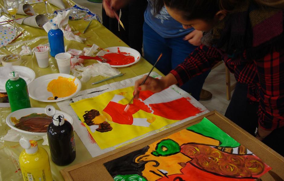 Creativando - Actividades - Cultural - Feria Building