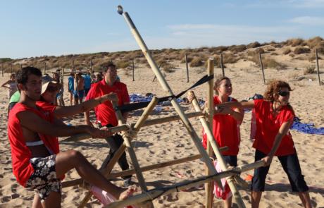 Catapultas - Actividad de Team Building - Creativando