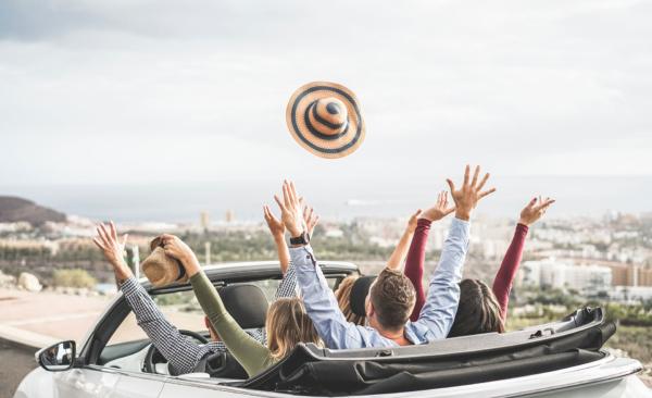 Discovery Car, actividad de rutas de Creativando