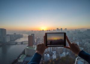 Aventura fotográfica, actividad de team building de Creativando