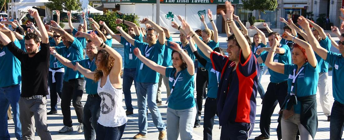 Creativando - Actividades - Exterior - Flash Mob