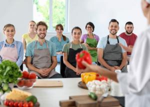 Jornada gastronómica, actividad de team building de Creativando