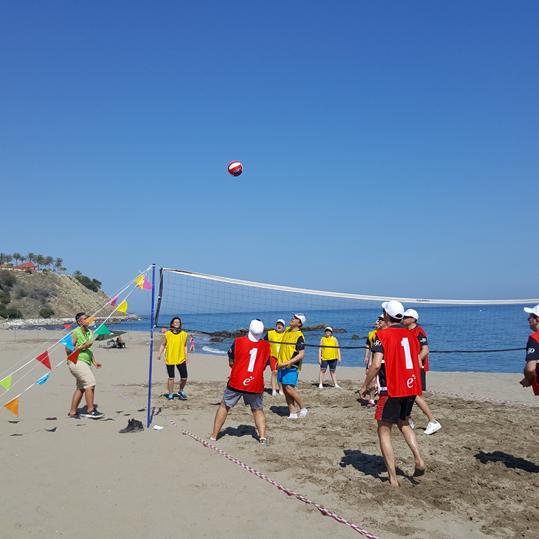 Creativando - Actividades de exterior - Olimpidas en la playa