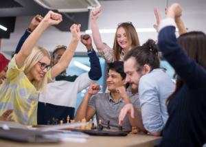 Torneo Indoor, actividad de team building de Creativando