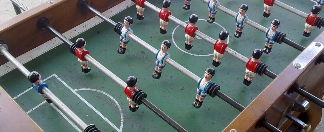 Creativando - Actividades - Interiores - Campeonato de futbolín