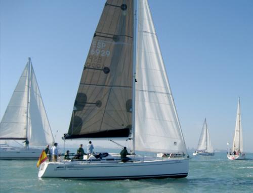 Mar, barco y regatas