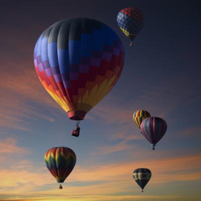 Creativando - Actividades - Aventura - Vuelo en globo