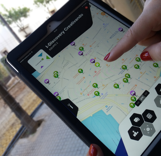 Team Building Gymkhana con iPads