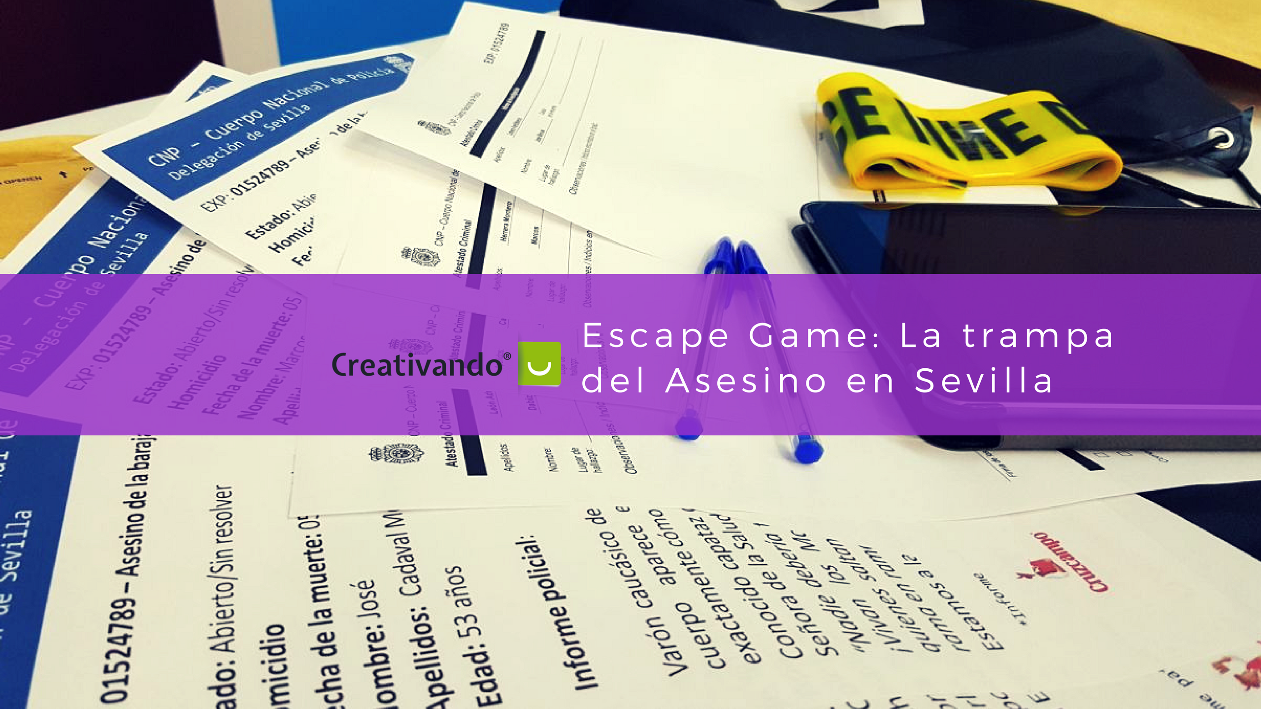 Escape Game - Creativando