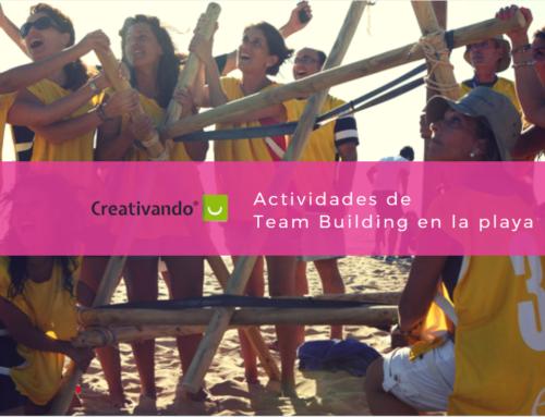 Actividades de team building en la playa