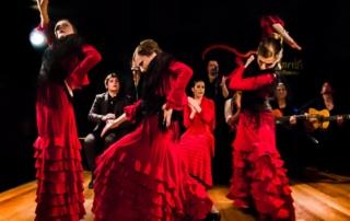 baile de flamencas