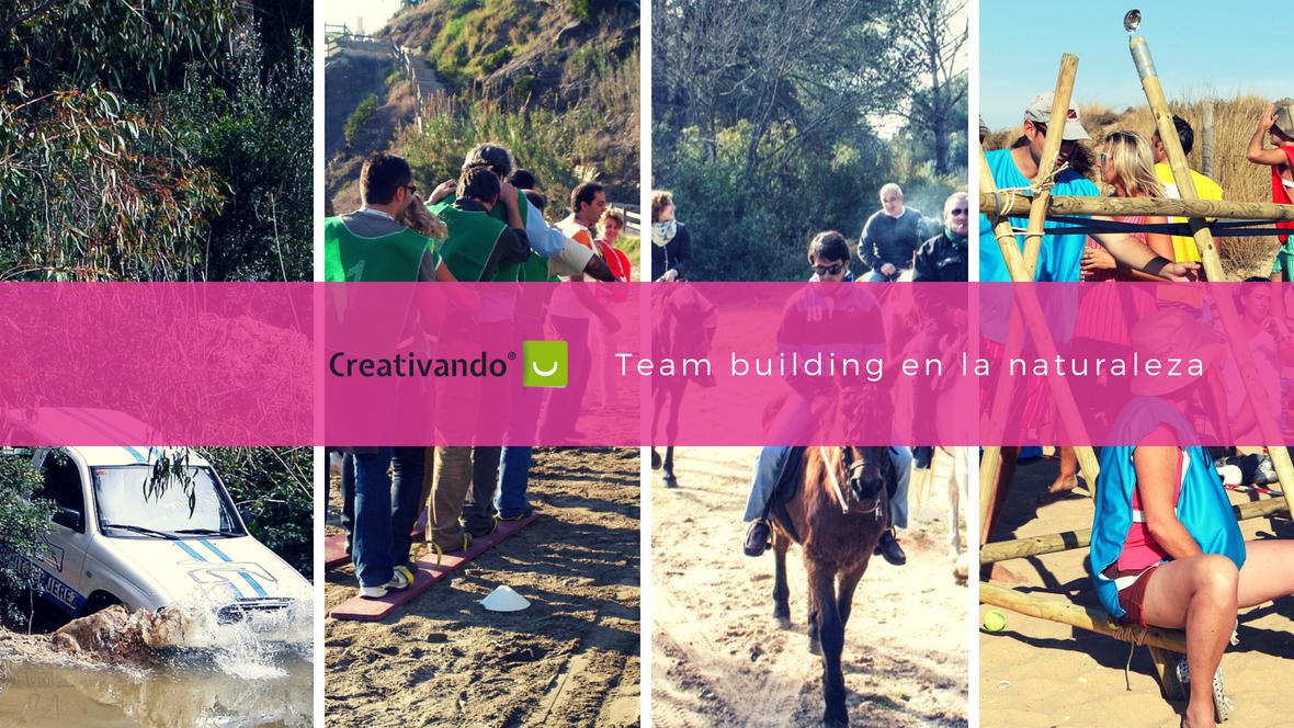 Actividades de team building en la naturaleza