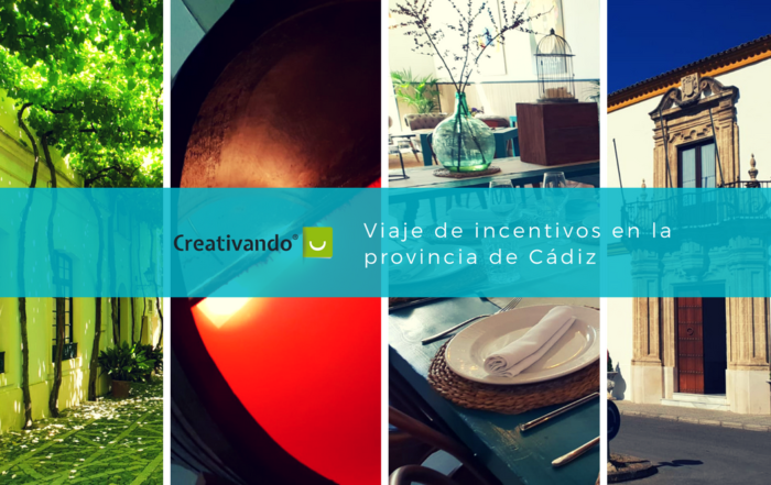 ¿Cómo organizar un viaje de incentivos a la provincia de Cádiz