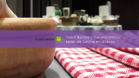 Team Building Gastronómico: taller de salsas