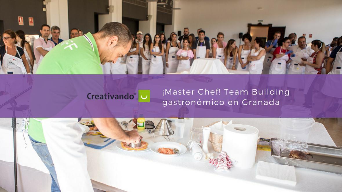 Team building gastronómico en Granada - Master chef
