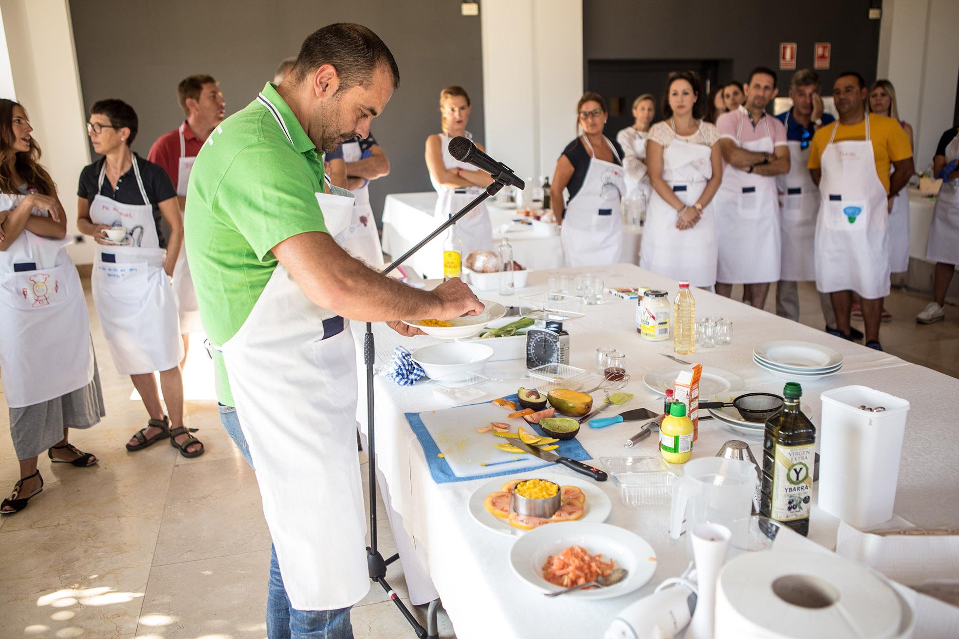 Team building gastronómico en Granada - Masterchef