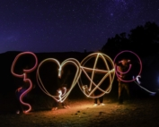 Light Painting, una actividad de Team Building de Creativando