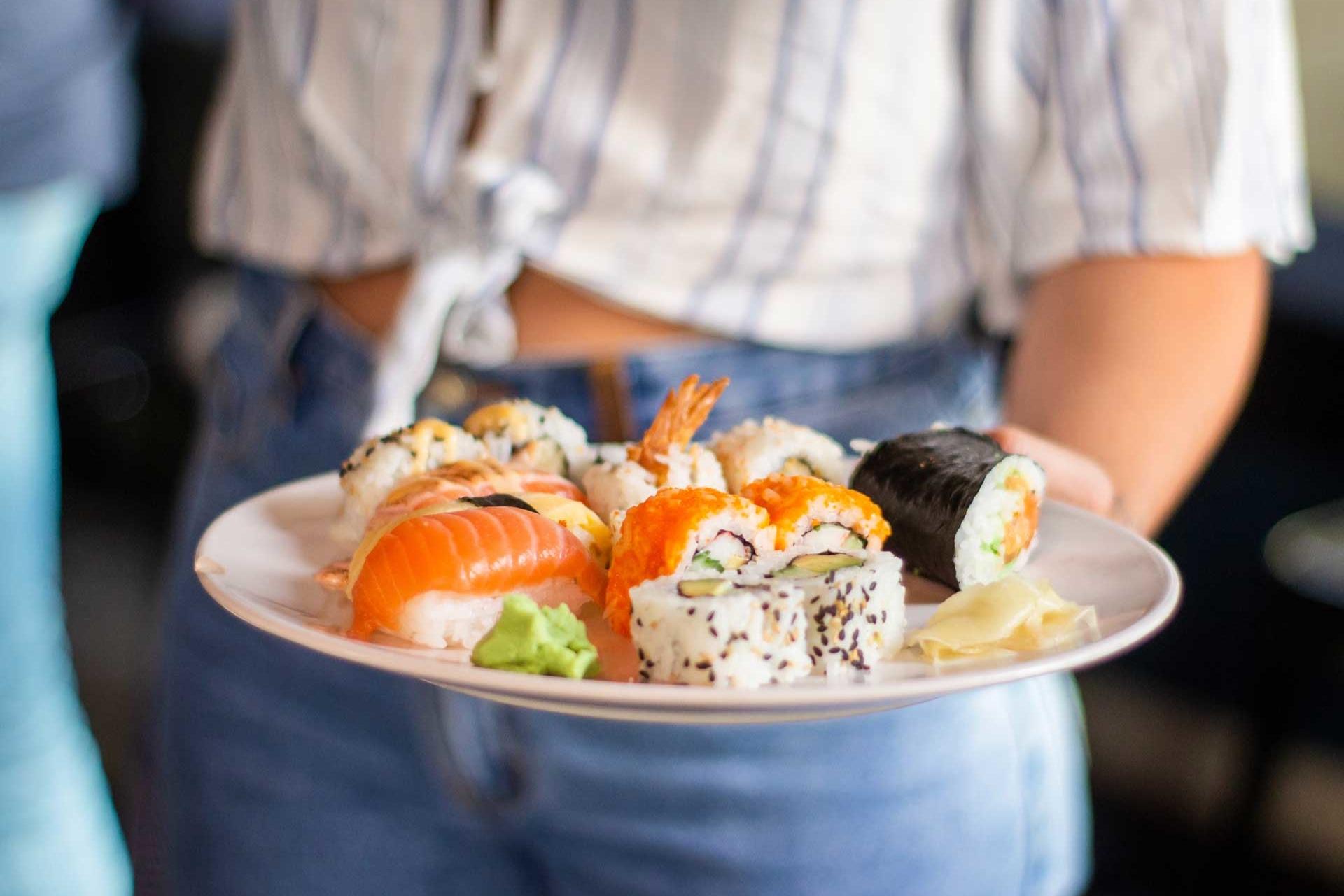 Sushi Clinic, una actividad de Creativando