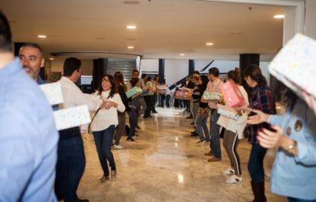 Cadena Solidaria - Una actividad RSC de Creativando